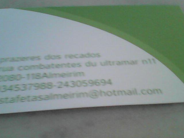 Prazeres&Recados - Serviços de estafetas entregas de correio expresso pequenas encomendas ate 5kl formalização de contratos pagamentos